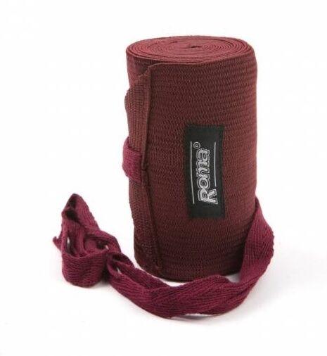 Roma Elastic Tail Bandage Burgundy