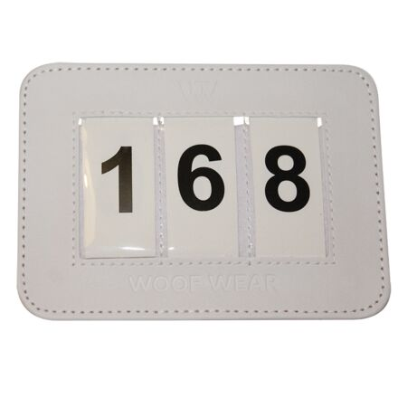 Woof Wear Dressage Number Holder