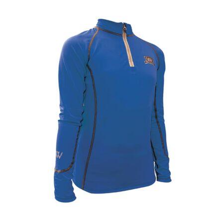Woof Wear Junior Pro Rider Performance Shirt - Electric Blue