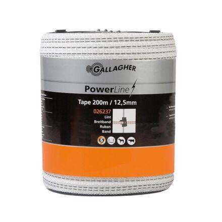 Gallagher PowerLine tape 12.5 mm 200m
