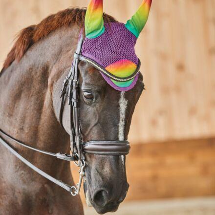 Weatherbeeta Prime Ombre Ear Bonnet - Rainbow