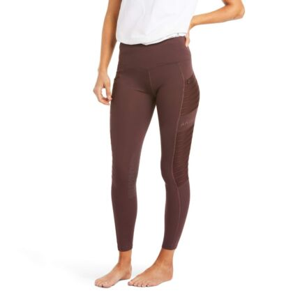 Ariat Eos Moto Knee Patch Tight-Cocoa