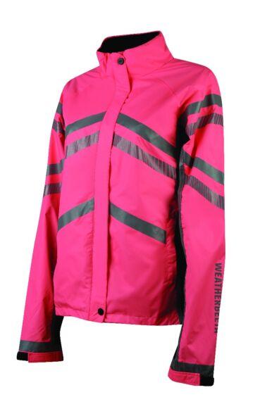 Weatherbeeta Reflective Lightweight Waterproof Jacket Pink