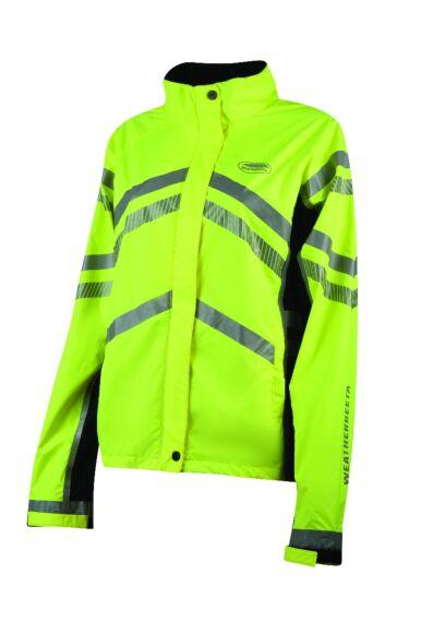 Weatherbeeta Reflective Lightweight Waterproof Jacket Yellow