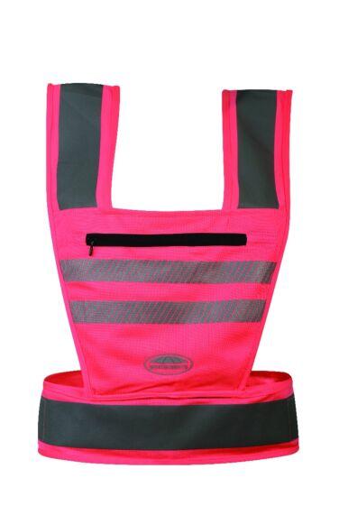 Weatherbeeta Reflective Harness Pink