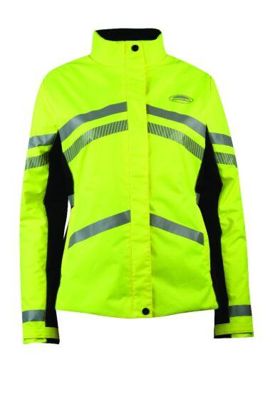 Weatherbeeta Reflective Heavy Padded Waterproof Jacket Yellow