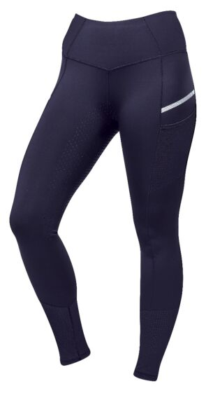 Dublin Power Tech Full Grip Training Tights-Navy