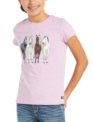 Ariat Youth 360 View T-Shirt Hyacinth Violet