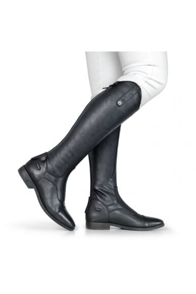 Brogini Casperia V2 Long Plain Front Riding Boots Black