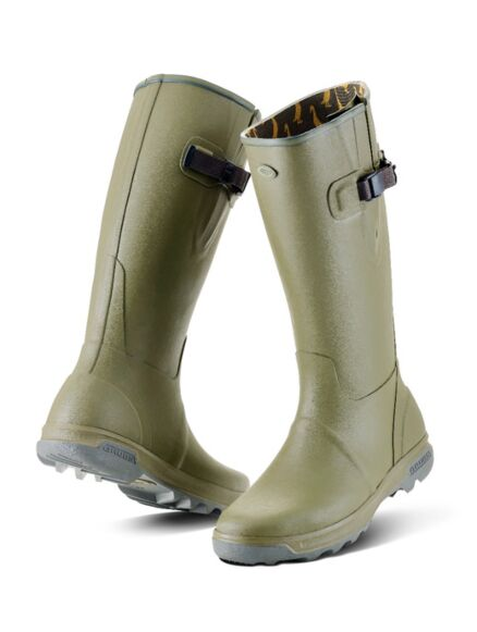 Grubs Highline Wellington Boots Sage Green