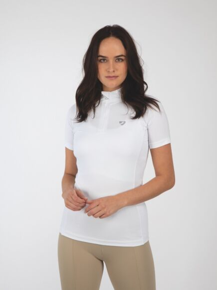 Shires Aubrion Highgate SS Base Layer-White