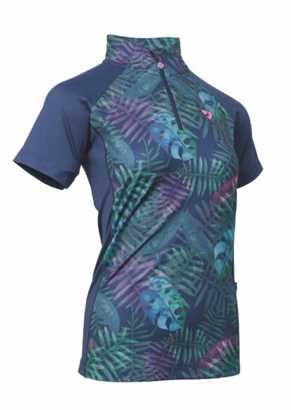 Shires  Junior Aubrion Highgate SS Base Layer- Tropical