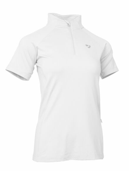 Shires  Junior Aubrion Highgate SS Base Layer- White