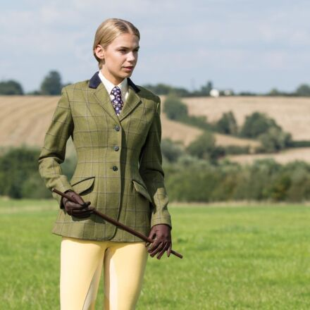 Equetech Adstock Deluxe Tweed Riding Jacket