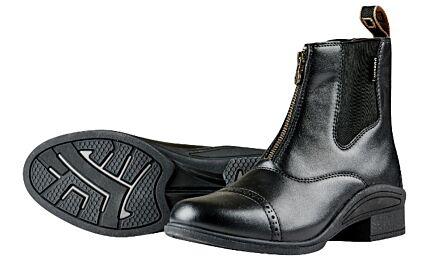 Dublin Altitude Zip Paddock Boots - Black Child
