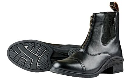 Dublin Altitude Zip Paddock Boot - Black Adult
