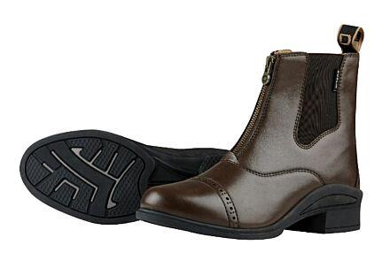 Dublin Altitude Zip Paddock Boots - Brown Adult