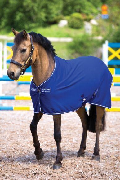 Horseware Amigo Jersey Pony Cooler Navy/Silver