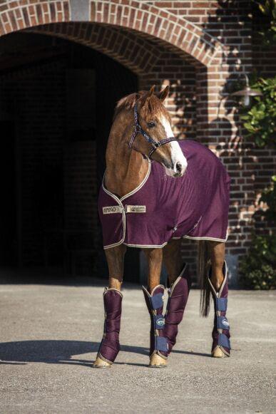 Horseware Amigo Jersey Cooler Fig/Navy/Tan