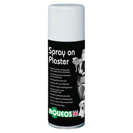 Aqueos Spray On Plaster