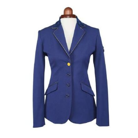 Shires Aubrion Delta Show Jacket Navy