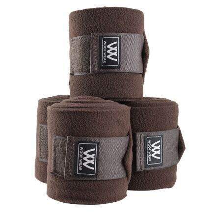Woof Wear Polo Bandages Chocolate