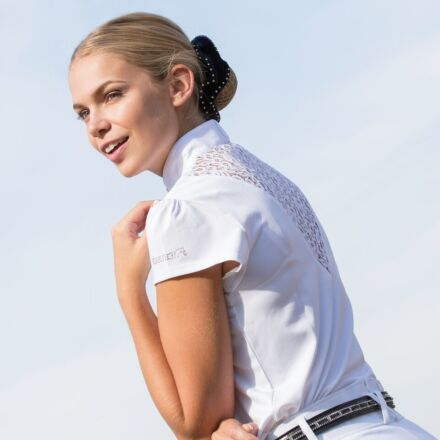 Equetech Bella Competition Shirt White