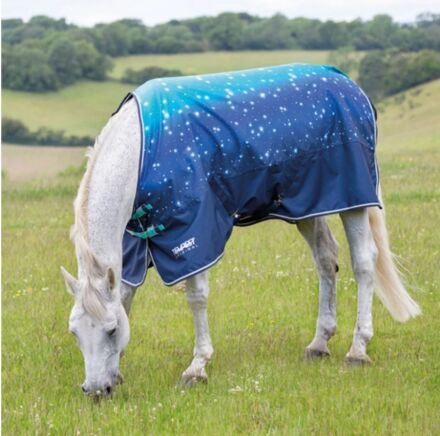 Shires Tempest Original 100 Turnout Rug- Blue Nebular
