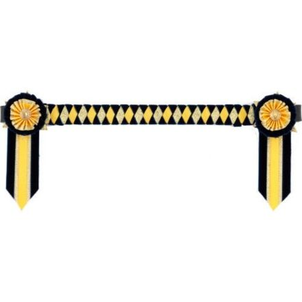 Showquest Browband Boston Navy, Sunshine, Gold