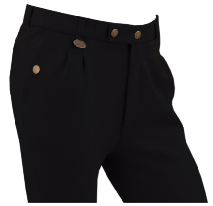 Equetech Boys Casual Breeches- Black
