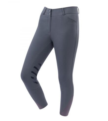 Dublin Pro Form Gel Knee Patch Breeches Charcoal