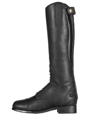 Ariat Bromont Tall H2O Oiled Black Boots Junior