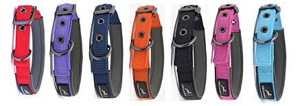 Miro & Makauri Padded Nylon Buckle Collars