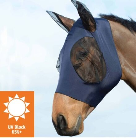 Weatherbeeta Stretch Eye Saver With Ears - Navy