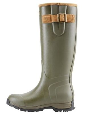 Ariat Burford Rubber Boot Mens Olive