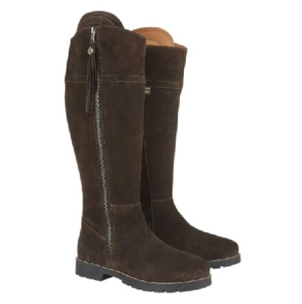 Cabotswood Burleigh Zip Up Boots Chocolate