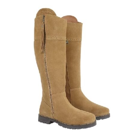 Cabotswood Burleigh Zip Up Boots Truffle