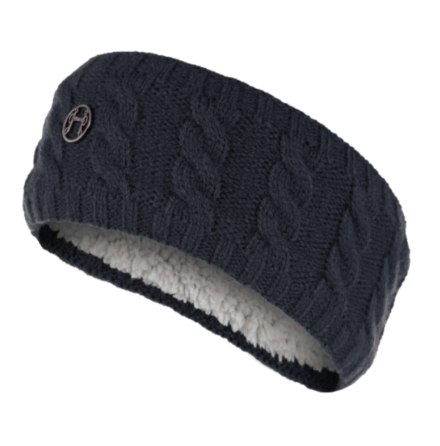 Equetech Cable Knit Headband Navy