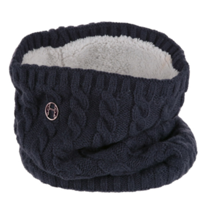 Equetech Cable Knit Snood Navy