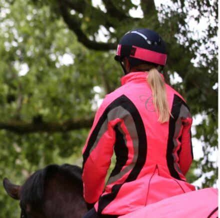 Equisafety Charlotte Dujardin Cadence Jacket - Pink