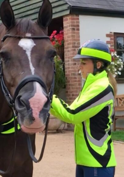 Equisafety Charlotte Dujardin Cadence Jacket - Yellow