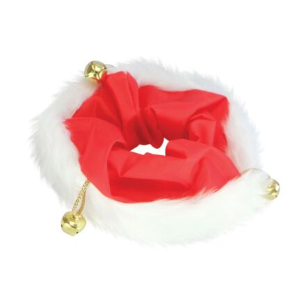ShowQuest Christmas Scrunchie- Red/White