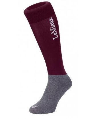 Le Mieux Competition Socks Burgundy (Twin Pack)