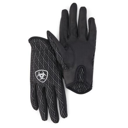 Ariat Cool Grip Glove Black/White