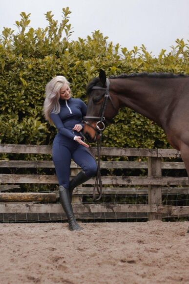 Cameo Core Collection Riding Tights Navy