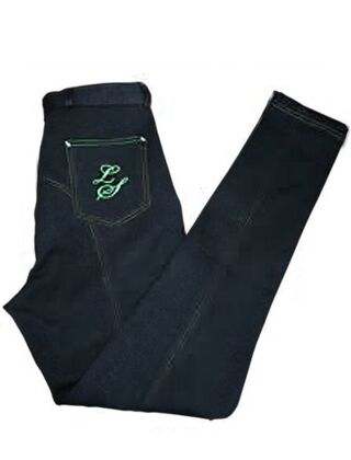 Legacy Junior Contrast Stitching Navy/Green