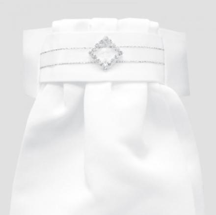 Equetech Diamante Diamond Deluxe Ready- Tied Stock