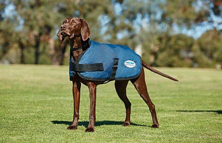 Weatherbeeta Comfitec Classic Parka Dog Coat Dark Blue