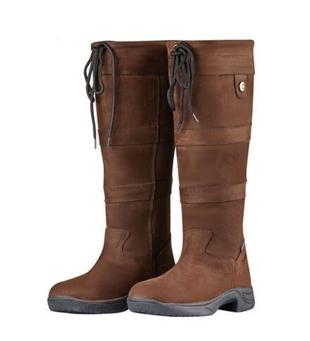 Dublin River Boot III - Chocolate Wide Calf