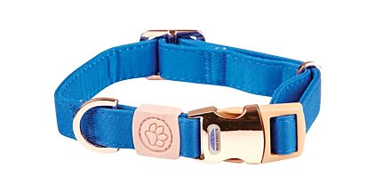 WeatherBeeta Elegance Dog Collar Blue